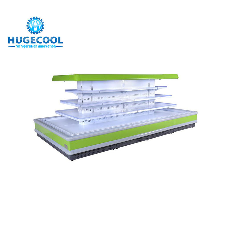 R404a Supermarket Multideck Display Fridge Electric Defrost For Commercial