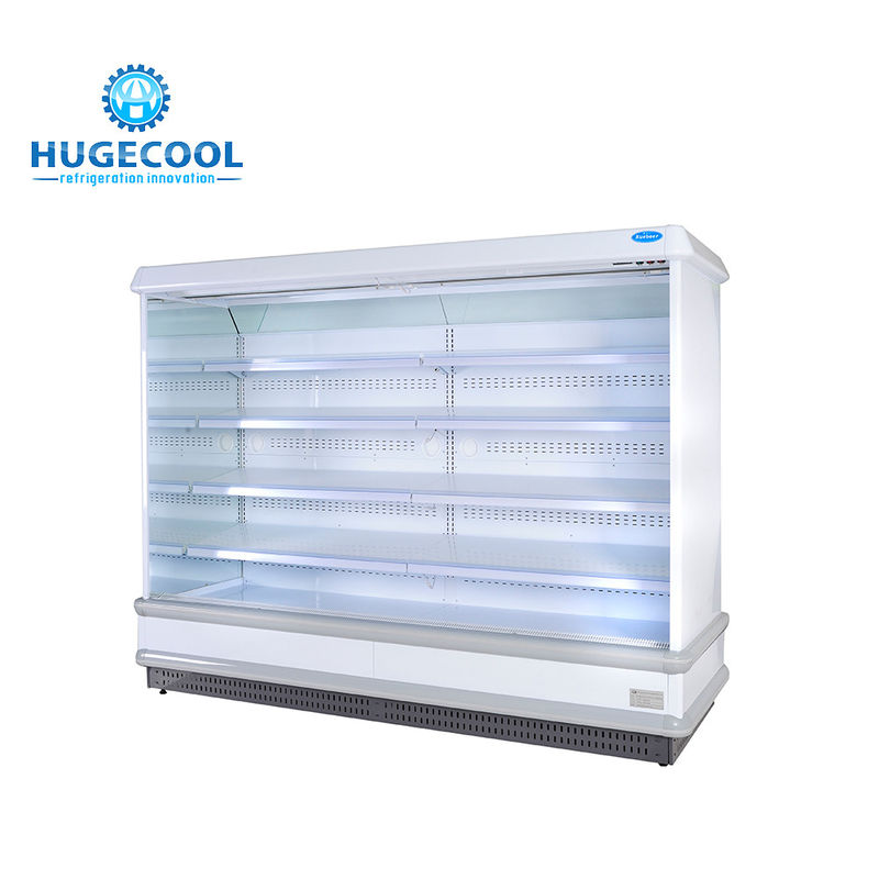 Single Temperature Convenience Store Fridge Beverage Cooler Air Cooling Type