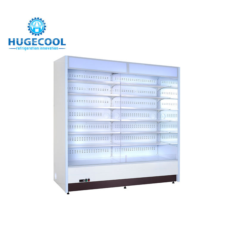 R404a Refrigerant Convenience Store Fridge Customized Capacity With 2 Door